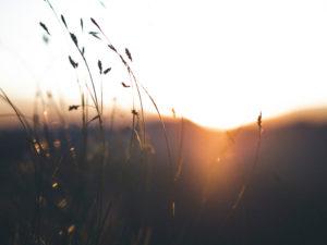 Mood: Sonnenuntergang in den Bergen